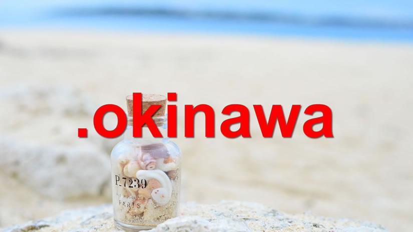 トップレベルドメイン「.okinawa」